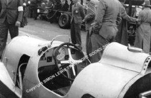 Auto Union C Type V16 Cockpit Muller's car , Donington GP 1937